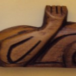 Sea Otter Wood Carving